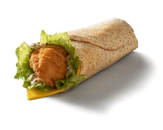 Snack McWrap Chicken  Cheese