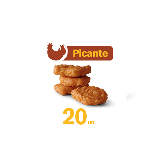 ShareBox 20 McNuggets® Picantes
